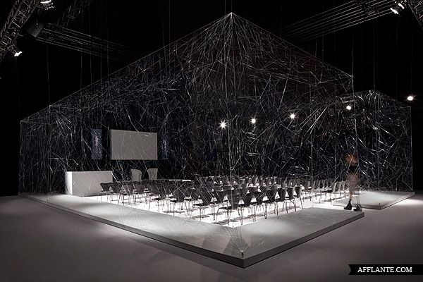 'Auditorium' For The 100% Design Show // Paul Cocksedge | Afflante.com
