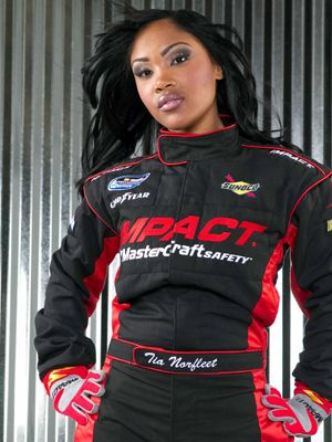 Tia Norfleet is the 1st African American Female NASCAR Driver.