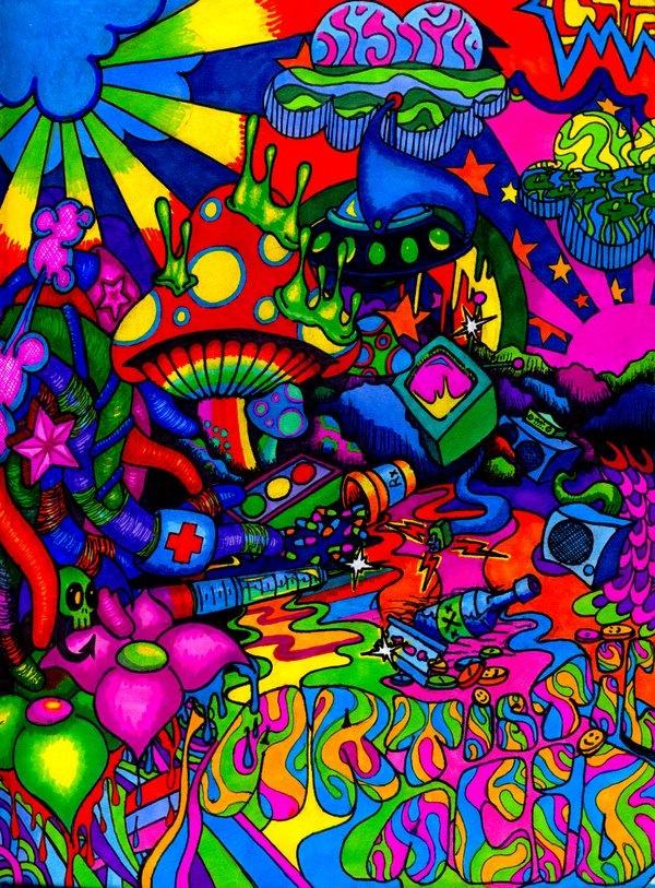 17 Best Ideas About Acid Trip Art On Pinterest