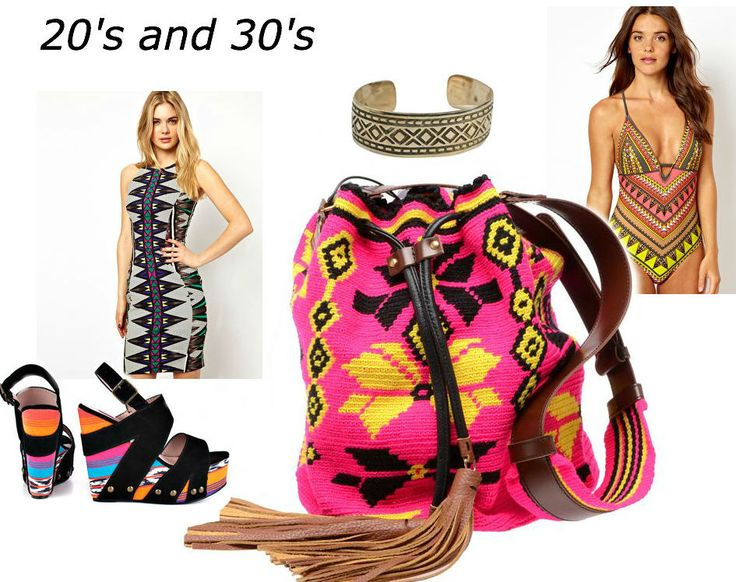 Tribal fashion for your age group #tribal #fashion #women #summer
