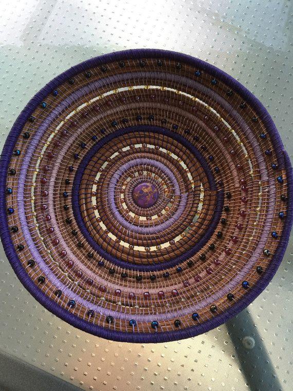 Blessings Pine Needle Basket
