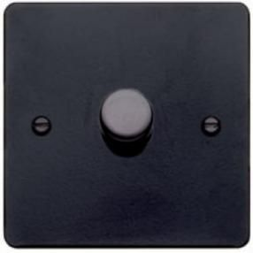 Black forged dimmer switches - Holloways of Ludlows