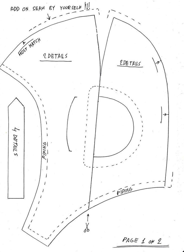 aviator hat pattern by vladrozgozo on deviantART | Let's sew (kids ...: pinterest.com/pin/28077197650568057
