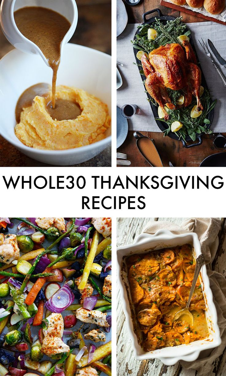 10 Whole30 Thanksgiving Recipes   Lexi's Clean Kitchen, Nom Nom Paleo, Fed & Fit, and MORE