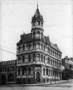 Tower House, professional chambers, Flinders St built 1891 demolished in 1980s