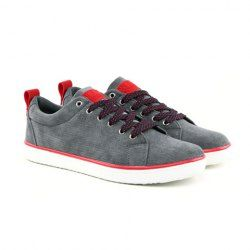 $15.80 Fashion Men's Canvas Shoes With Splice and Lace-Up Design
