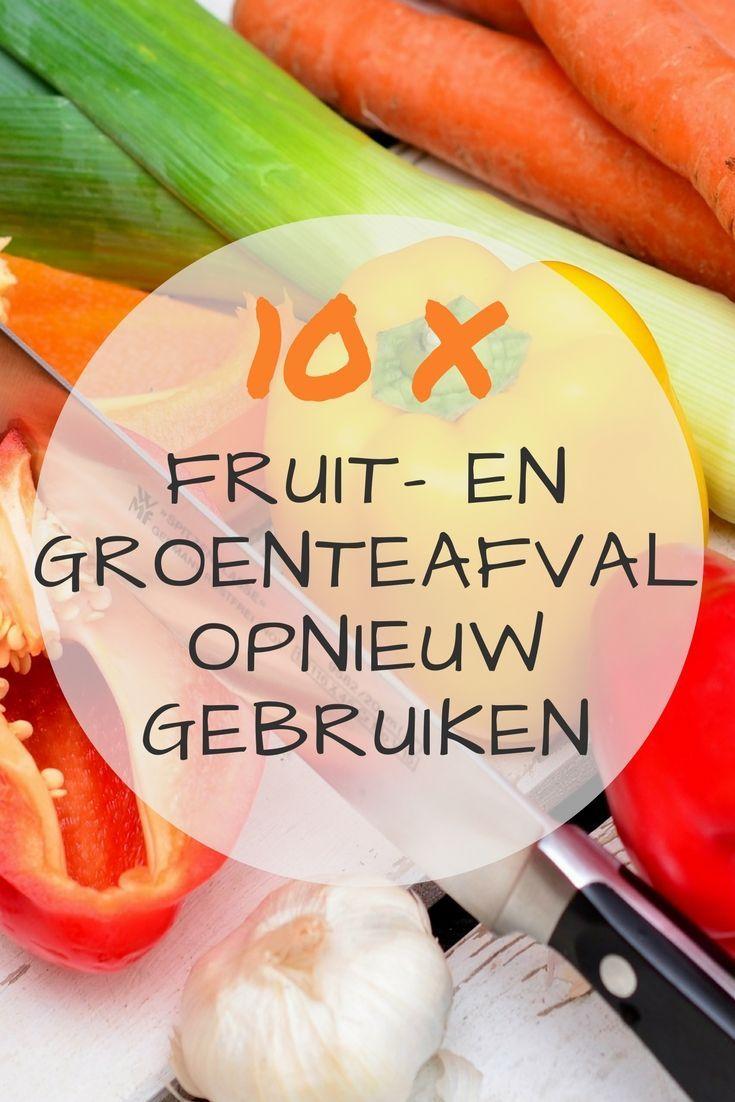 Wist je dat je jouw afval eenvoudig een tweede leven kunt geven? Vandaag deel ik 10 tips om jouw fruit- en groenteafval opnieuw te gebruiken.