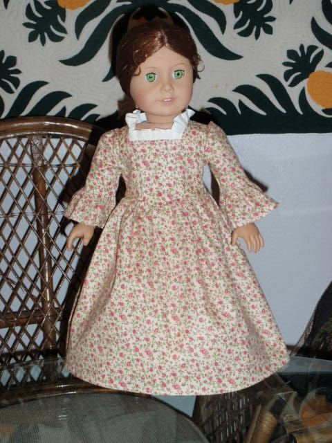 1770s Colonial Rose Garden Dress Gown by alohagirldollclothes, $24.50Rose Gardens, Gardens Dresses, Girls Dolls, Dolls Clothing, 1776 Colonial, Inch Dolls, Dolls Dresses, 1770S Colonial, Dolls Felicity