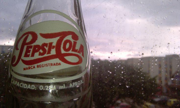 ley de tercios - botella pepsi cola años 80's