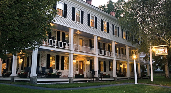 Grafton, Vermont * A meticulously maintained New England village founded in 1763,
