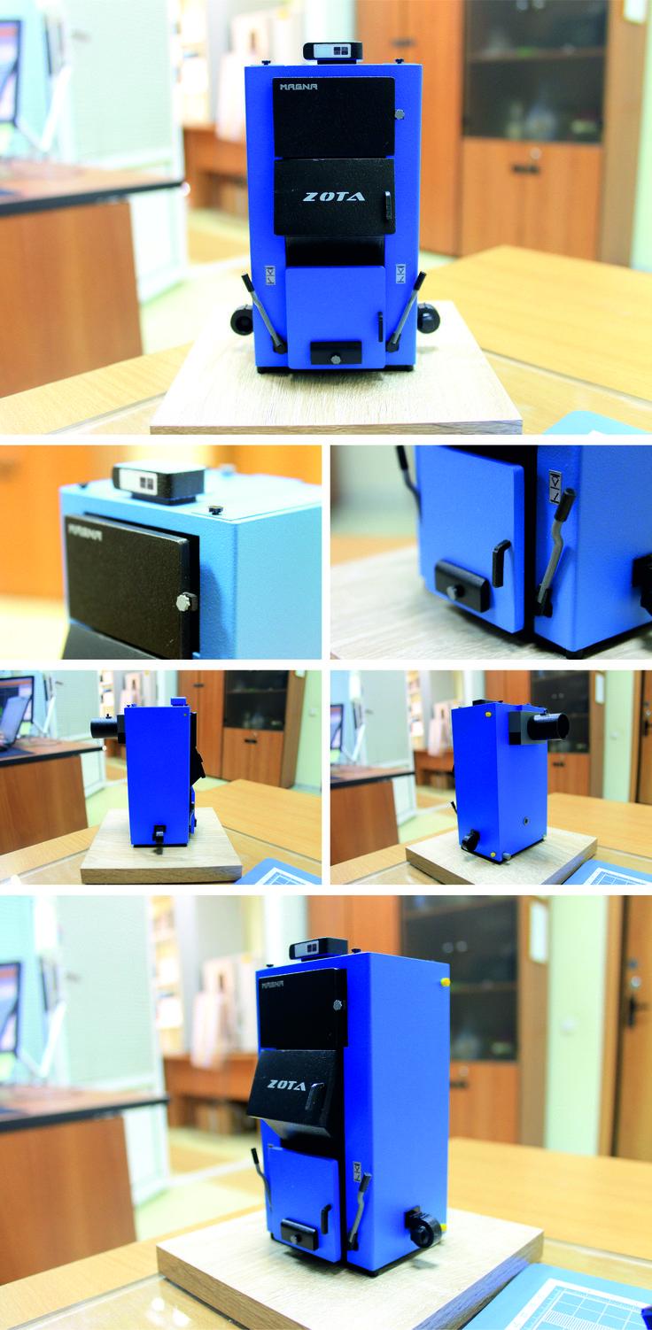 Model of heating equipment