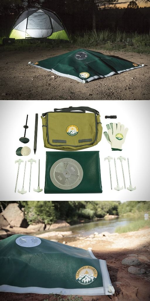 Campfire Defender - Complete Kit - Ultimate Camping Gear