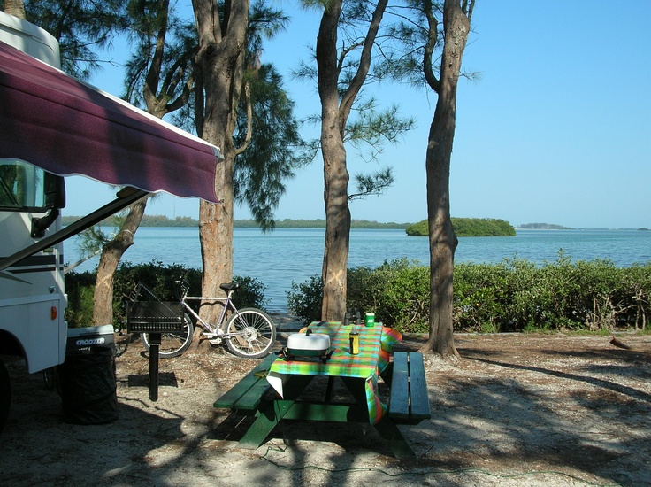 Camping On The Water Fort De Soto Pinellas County I