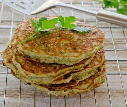 Heerlijke gezonde koekjes/pannenkoekjes van wortel en courgette