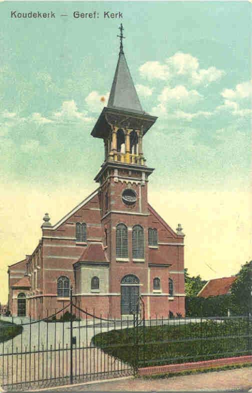 Gereformeerde kerk Koudekerk aan de Rijn