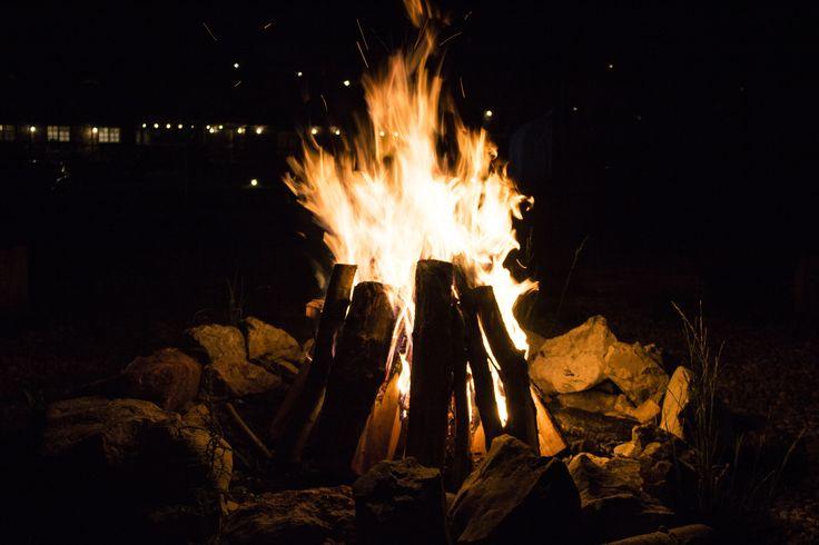 Campfire in Transylvania, Romania. @ Raven's Nest