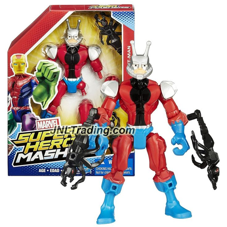 Hasbro Year 2015 Marvel Super Hero Mashers Series 6 Inch Tall Action Figure : ANT-MAN with Detachable Hands and Legs