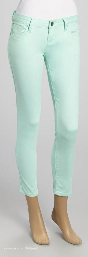 #Mint Capris - LOVE these!!! (VIP Jeans)