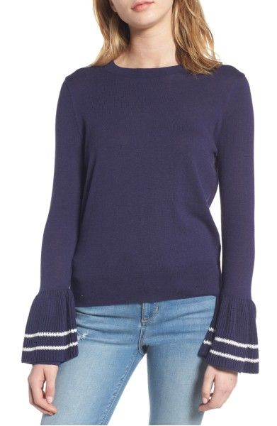 Main Image - BP. Ruffle Bell Cuff Sweater