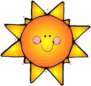 Imagen de sol infantil para imprimir