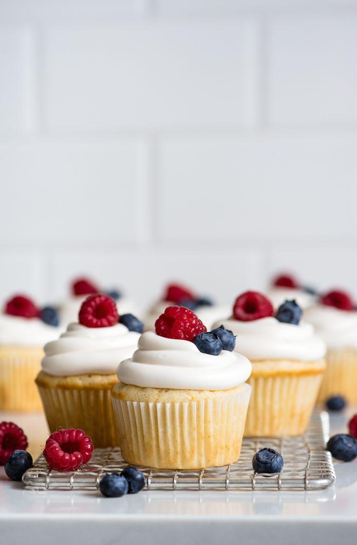 Lemon Buttermilk Cupcakes Recipe