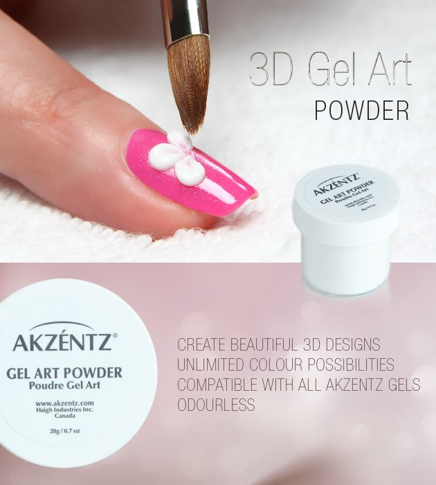 22 best akzentz images on pinterest makeup products and for the akzentz 3d gel art powder akzentz 3d gel will let you get in touch with your artistic side simply mix your choice of options uvled colour gel and akzentz prinsesfo Image collections