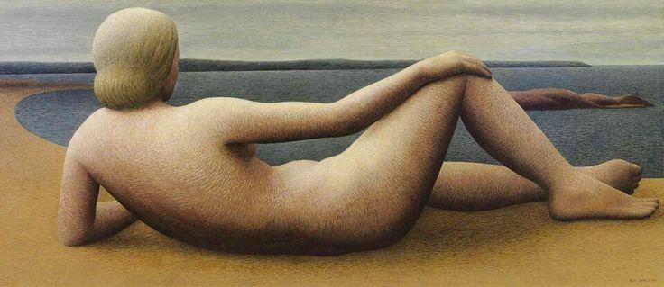 Alex Colville - Coastal figure, 1951