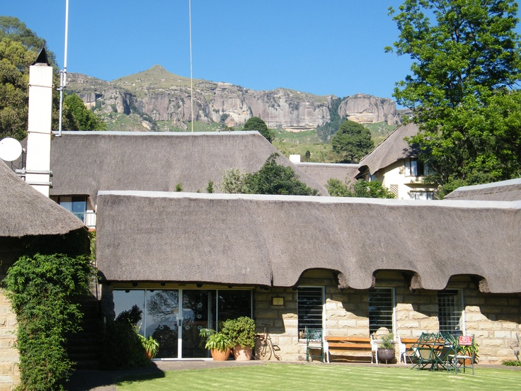 The Cavern resort in the Drakensburg mountains
