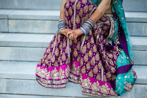 color inspiration: purple + teal