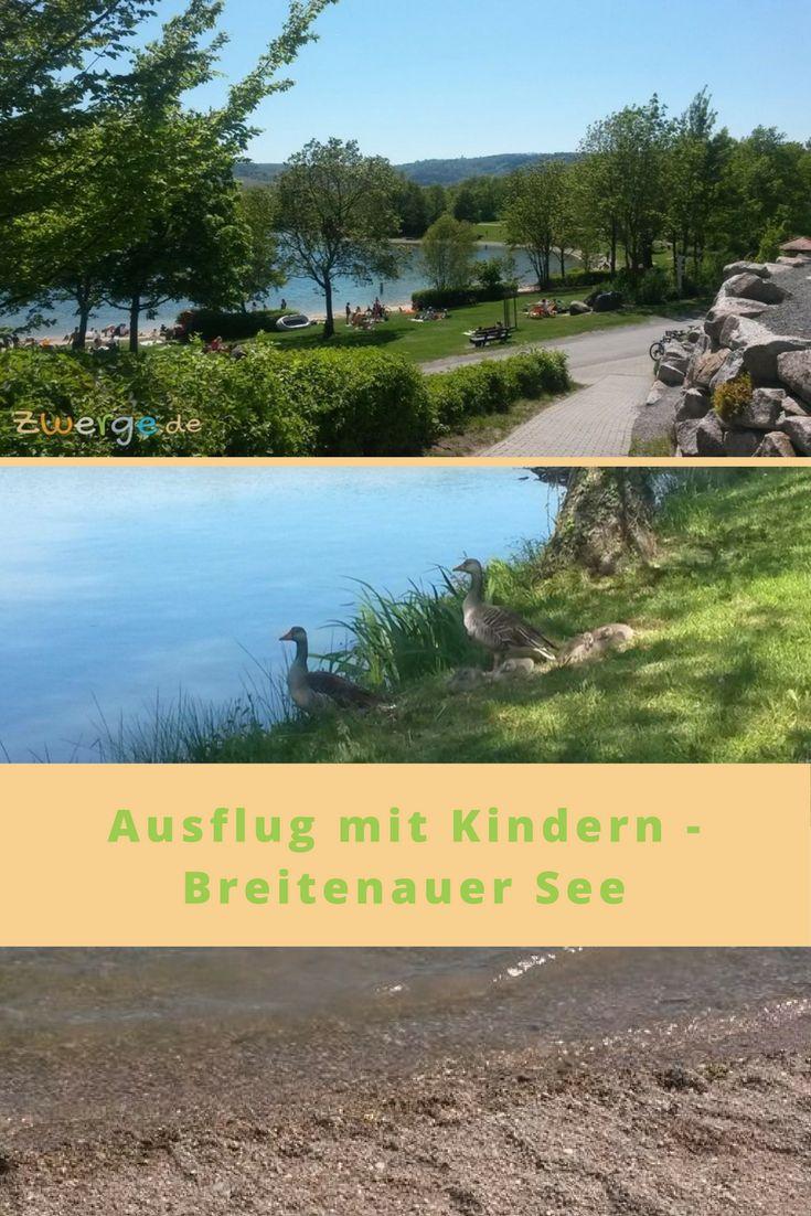 Am Breitenauer See in Obersulm kann man viel unternehmen. Spaziergehen, baden und planschen, Tretboot fahren und den großen Spielplatz besuchen.