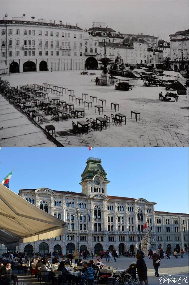 Piazza Grande, allora, oggi Piazza dell'Unità d'Italia