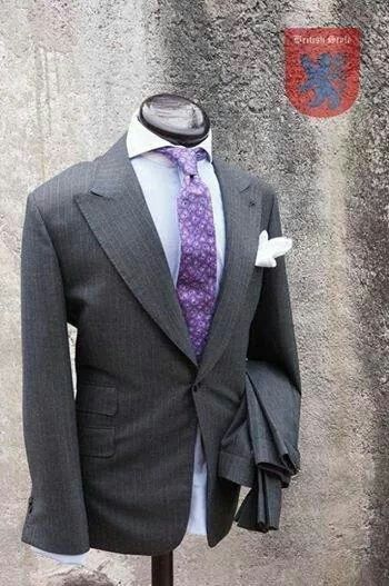 Pinstripe Suit by British Style