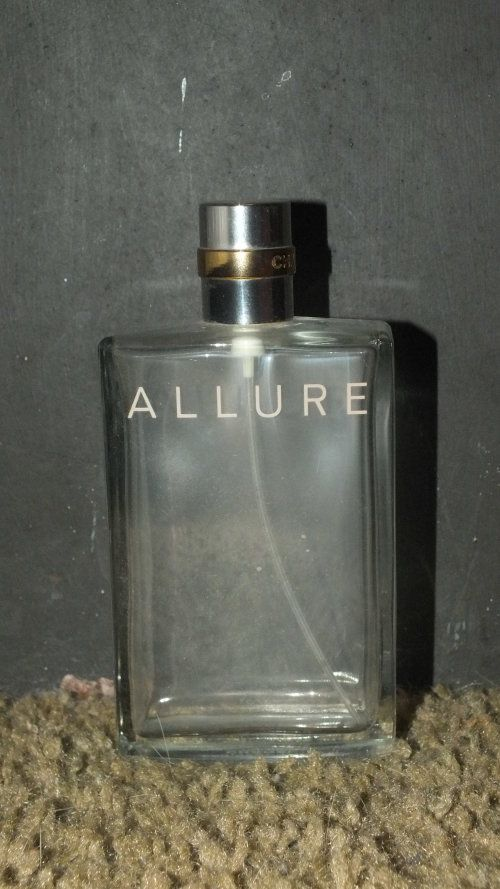 Buy Perfume Bottle - Allure Chanel - Empty - Collectablefor R125.00