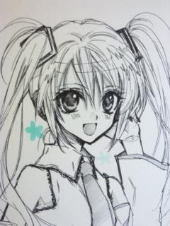 Arinacchi's version of Hatsune Miku