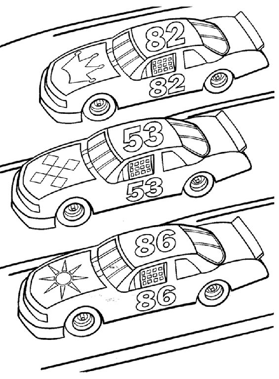 Race Car Coloring Pages Free Dessincoloriage