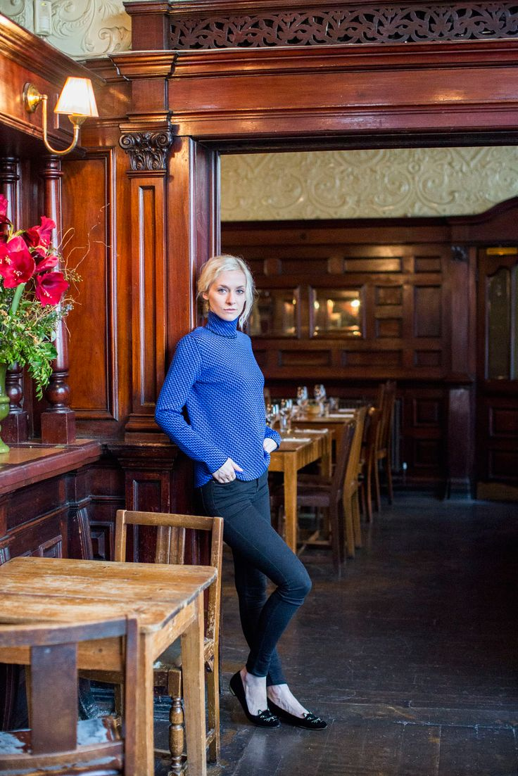 My City, My Style: Model Portia Freeman Whisks Us To Crouch End #refinery29  http://www.refinery29.com/2013/10/55944/portia-freeman-interview#slide6  The Queens Pub is where you'll find Portia and her boyfriend Pete enjoying dinner and a few tipples.    PRINGLE OF SCOTLAND JUMPER, WHISTLES JEANS, CHARLOTTE OLYMPIA FLATS.