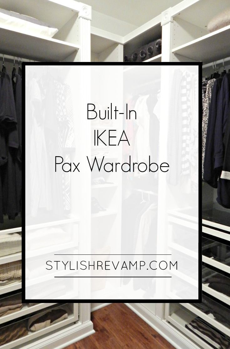 Revamping My Closet With The Ikea Pax Wardrobe Mit Bildern