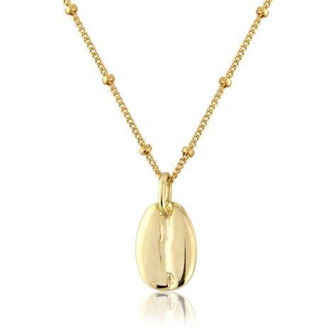9ct Coffee Bean Charm / pendant