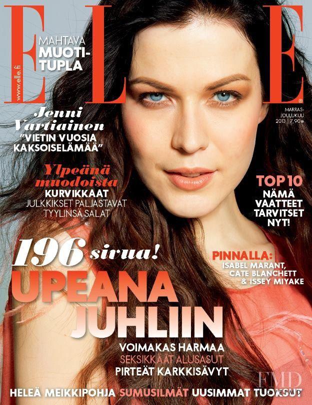 ELLE FINLAND - NOV 2013 - JENNI VARTIAINEN