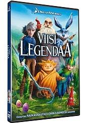 Viisi legendaa dvd
