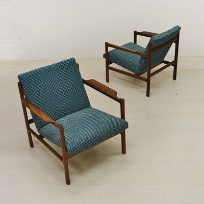 Located using retrostart.com > Lounge Chair by Unknown Designer for Bruksbo Norway