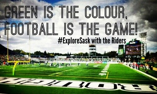 Green is the colour , football is the game !