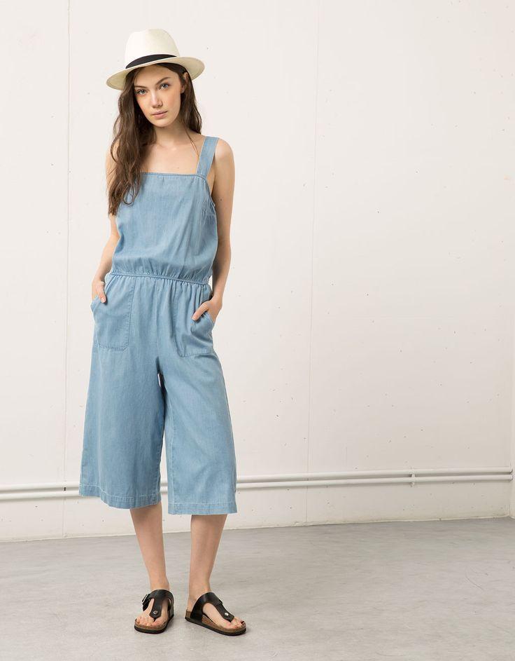 Bershka culotte jumpsuit - Dresses & Jumpsuits - Bershka Greece
