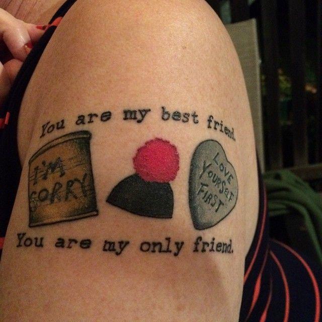 Tattoo 2 weeks on. Love.
