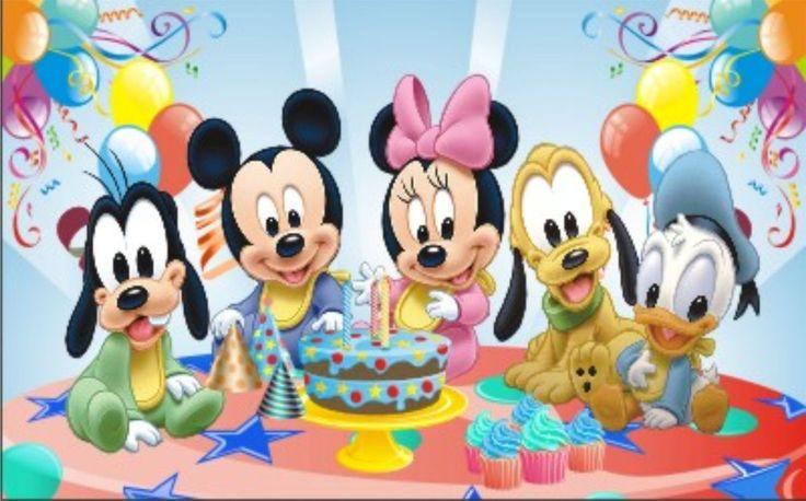 Марта оформление, картинки день рождения для детей дисней