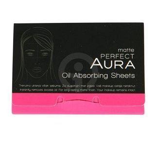 AURA Oil Absorbing Sheets - OLAJFELSZÍVÓ MATTÍTÓ LAPOK