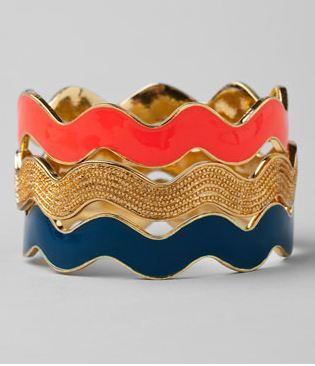 love these bangles. and this color scheme.