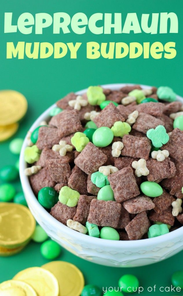 Leprechaun Muddy Buddies