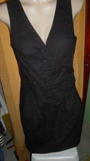 Brecho Online - Belas Roupas: Vestido Hering