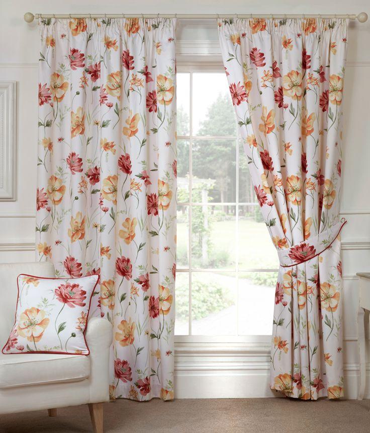 Nicole Autumn Ready Made Curtains